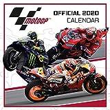 1art1 Motociclismo - Moto GP Calendario Oficial 2020 Póster Calendario (30 x 30cm)