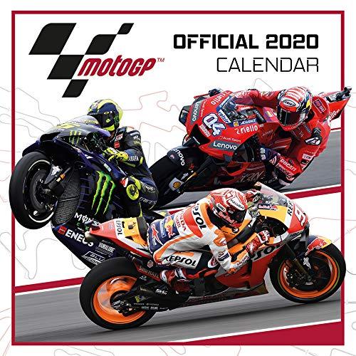 1art1 Motorradsport - Moto Gp Offizieller Kalender 2020 Poster-Kalender 30 x 30 cm