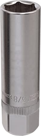 OEMTOOLS 22888 5/8 Inch 1/2 Inch Drive Magnetic Spark Plug Socket