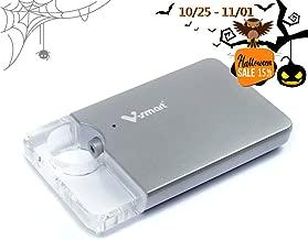 V-smart FD100 64GB / 128GB / 256GB CrystalDisk Wireless Flash Drive   5G WI-FI Blazing Fast Speed Universal Media Storage Drive for Smartphones, Tablets, Computers (64GB Silver)