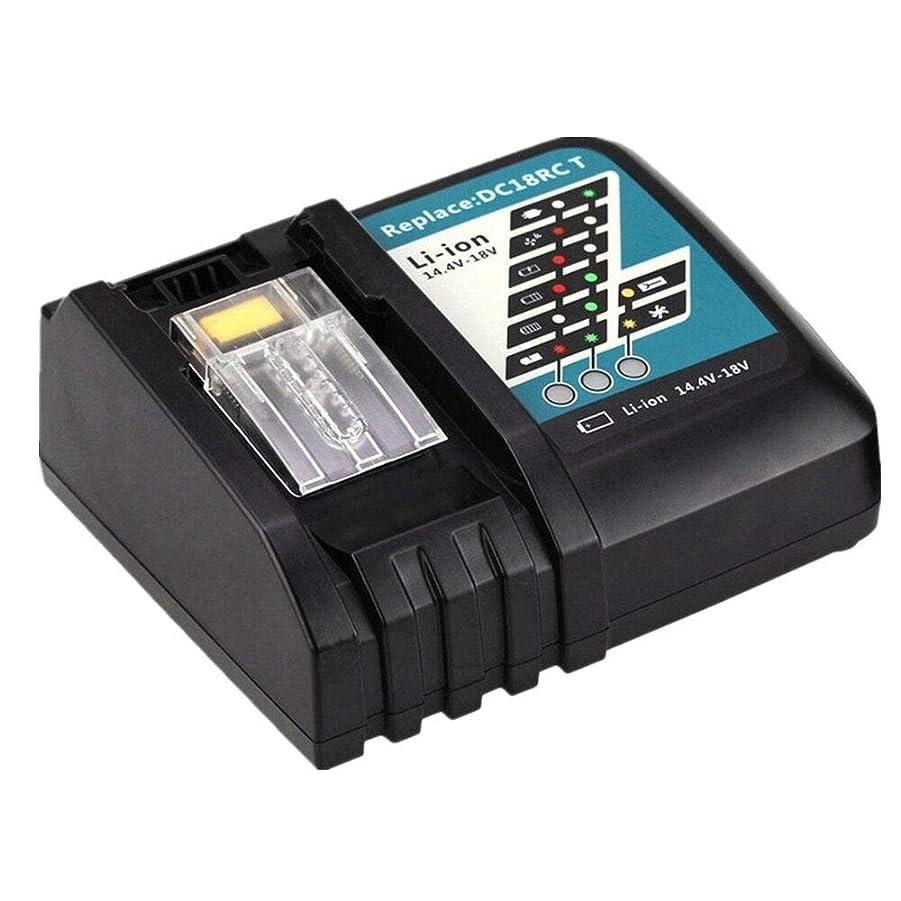 うっかり高原処方Enermall マキタ充電器 DC18RC マキタ 18v バッテリー マキタ 14.4v バッテリー BL1860 BL1460対応 急速充電 互換用 充電完了メロディ付き …