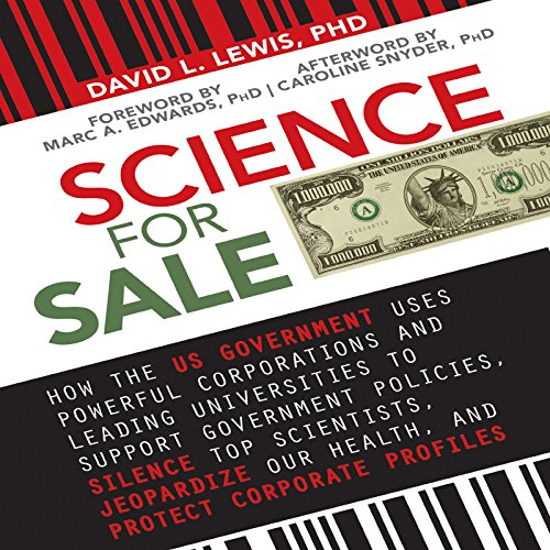 Science for Sale audiobook cover art