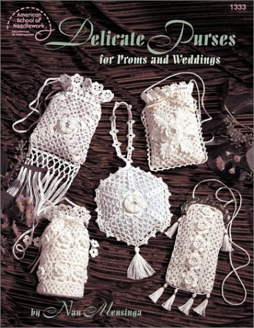 Hot Sale Crochet Delicate Purses for Proms and Weddings