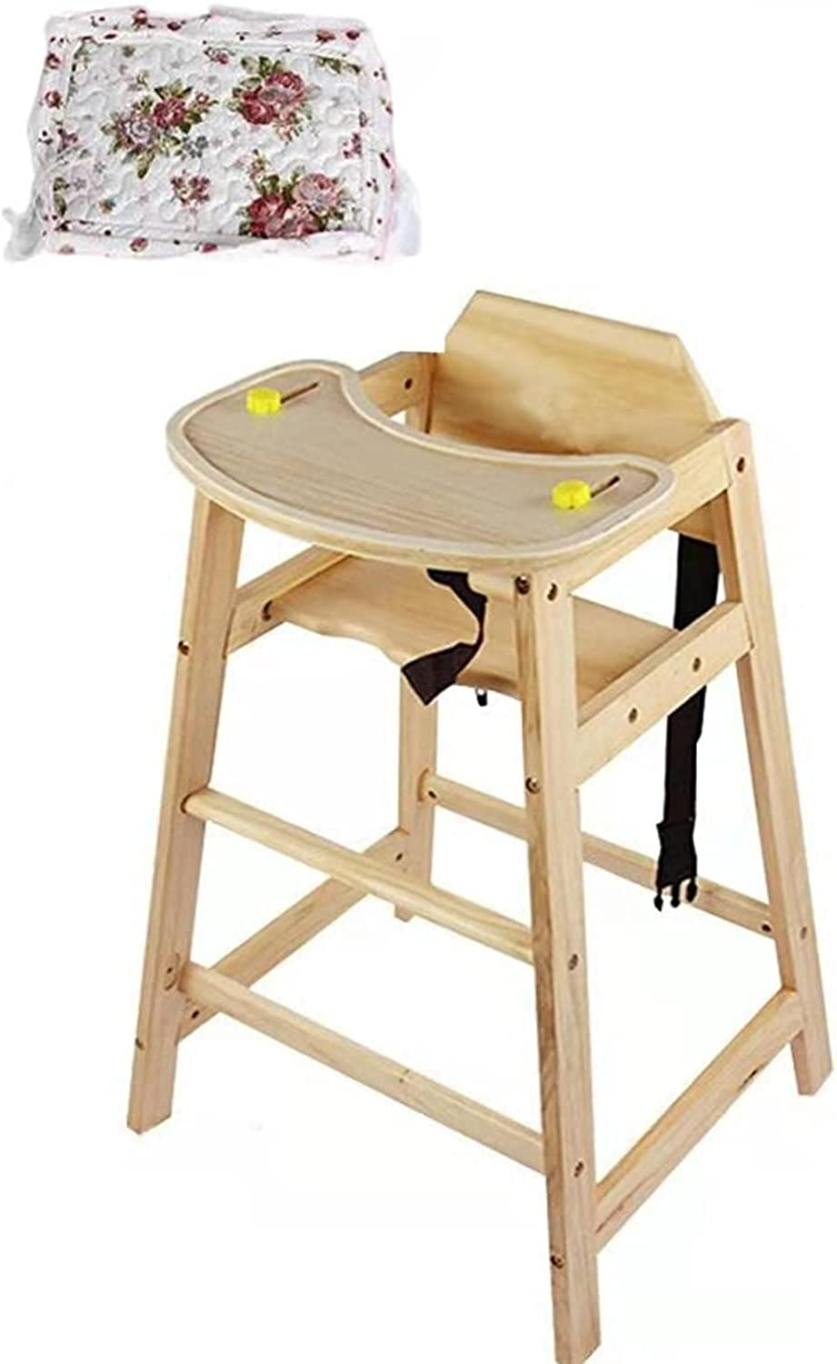 Junqin Baby high Houston Mall In stock Chair Wooden New Stackable Res Children's
