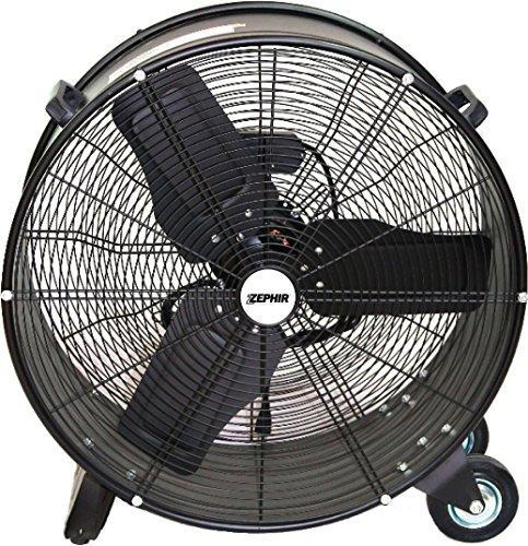 Zephir ZDM60CM Ventilatore AD Alta Velocita', Nero