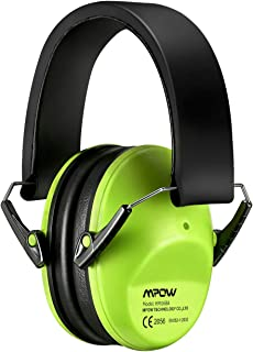 Mpow 068 Kids Ear Protection, NRR 25dB Noise Reduction Ear Muffs, Toddler Ear Protection, Protective Earmuffs for Shooting Range Hunting Season, for Toddlers Kids Children Teens-Green