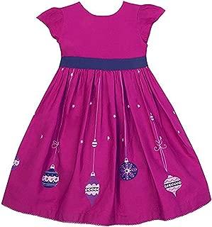 JoJo Maman Bebe Little Girls'Bauble Party Dress
