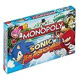 Sonic Boom Monopoly Juego de Mesa Standard