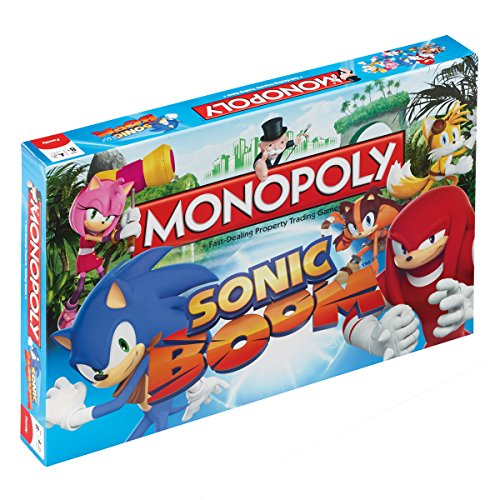 Winning Moves Sonic Boom Monopoly Jeu de société
