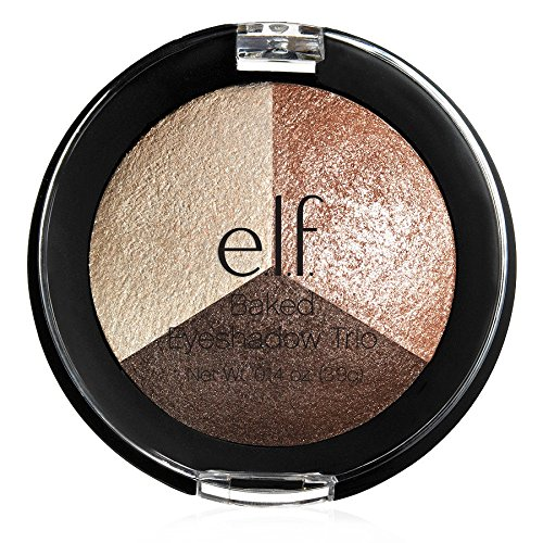 Elf Baked Eyeshadow Trio Peach Please