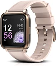 RTAKO Smart Watch for Men Women, Fitness Tracker Watch with Heart Rate Monitor Blood Oxygen Meter, IP68 Swimming Waterproo...