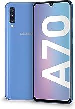 "Samsung Galaxy A70 Display 6.7"", 128 GB Espandibili, RAM 6 GB, Batteria 4500 mAh, 4G, Dual SIM Smartphone, Android 9 Pie, (2019) [Versione Italiana], Blue"