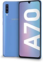 "Samsung Galaxy A70 Display 6.7"", 128 GB Espandibili, RAM 6 GB, Batteria 4500 mAh, 4G, Dual SIM Smartphone, Android 9 Pie, (2019) [Versione Italiana], Blue"