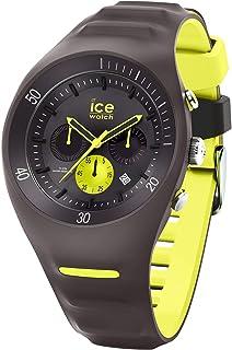 Ice-Watch - P. Leclercq Anthracite - Montre grise pour homme avec bracelet en silicone - Chrono - 014946 (Large)