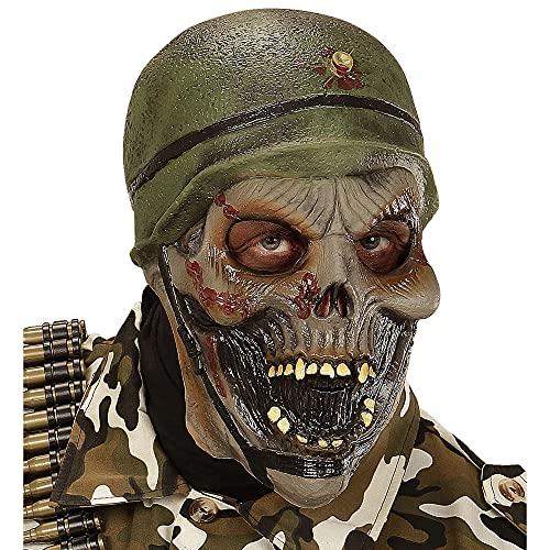 WIDMANN 00397 - Zombie Mscara Soldado para adultos , color/modelo surtido
