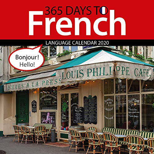 365 Days to French 2020 Wall Calendar