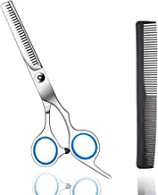 Stainless Steel Hair Cutting,MSDADA Professional Hair Thinning Texturizing Scissors Thinning Shears 6.7 Inch, Professional Salon Barber Haircut Scissors Family Use for Man Woman Adults Kids