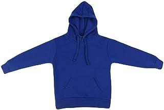 Fresh Idea Living New Kids Hoodie Jumper Pullover Basic School Uniform Plain Casual Sweatshirt