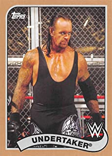 Undertaker #74 WWE Road to combat 2016 TOPPS TRADING CARD