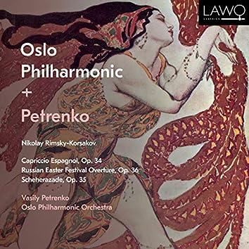 Nikolay Rimsky-Korsakov: Capriccio Espagnol, Op. 34, Russian Easter Festival Overture, Op. 36 & Scheherazade, Op. 35