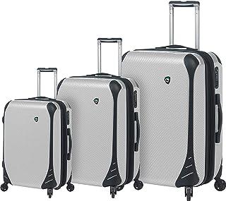 مجموعة حقيبة الأمتعة 3 قطع من ميا تورو فايبر دي كاربونيو