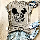 Star Wars Mickey/Graphic V Neck Shirt/Graphic Tee/Unisex Fit/V Neck/Alternative Apparel/Free Shipping/Adult Unisex Fit