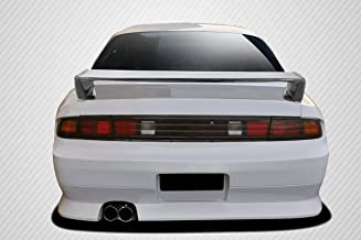 Carbon Creations Replacement for 1995-1998 Nissan 240SX S14 Kouki Rear Wing Spoiler - 1 Piece