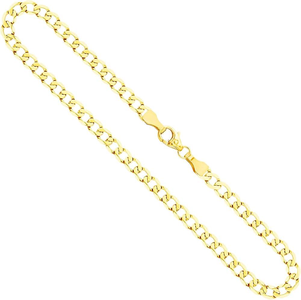 Edelweiss collana uomo modello  grumetta  in oro giallo,14 carati 585 70FBG0552