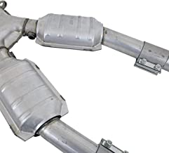 """BBK 1670 2-1/2"""" High Flow Performance Full X Pipe With High Flow High Flow Catalytic Converters for Ford Mustang 4.6L"""