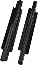 2 STKS Lade Slide Rail, Push-in Open Type, Heavy-Duty 3 fold Full Extension Rail, Ondersteuning Ondermontage Kogellager Sl...