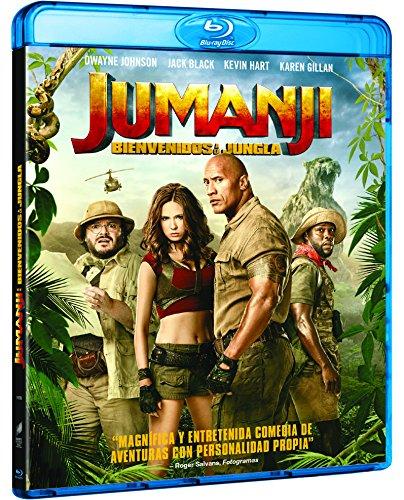 Jumanji: Bienvenidos A La Jungla [Blu-ray]