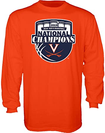 Elite Fan Shop UVA Virginia Cavaliers National Basketball Champions Polo Shirt 2019 White