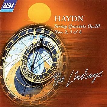 Haydn: String Quartets Op. 20 Nos. 2, 5 and 6