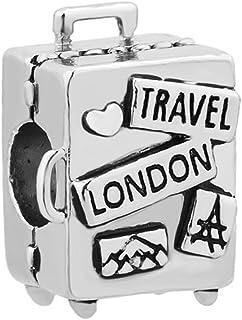 Abalorios únicos para pulsera de abalorios de amor a viajar
