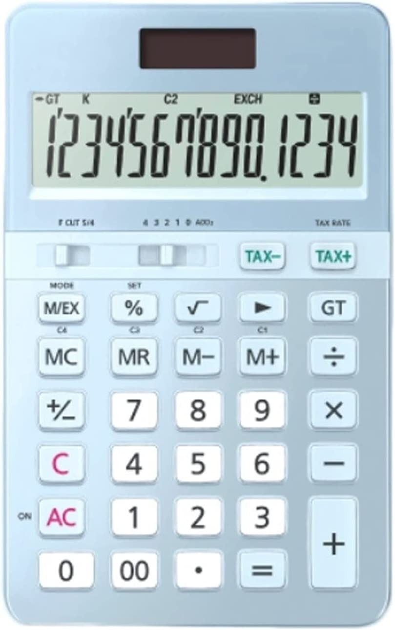 Calculator Portable favorite Calculators Female National products 14-Digit Business Display