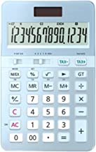 $98 » Desktop Calculators Portable Calculators Female Business 14-Digit Display Type Dual Power Calculator Multi-Function Mute C...