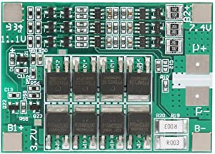 FTVOGUE Battery Protection Board 3S 12V 40A Lithium Battery Charger Protection Board BMS PCB Board with Balance Charging