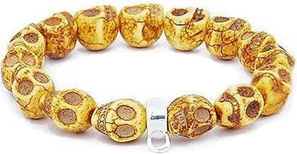 ANDANTE stijlvolle archeologen armband vanitas doodshoofden