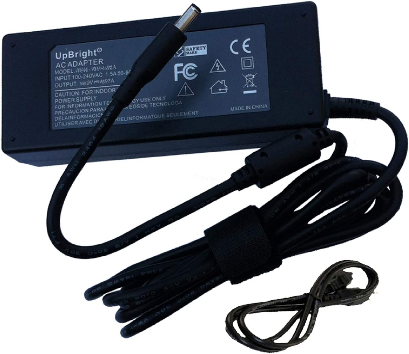UpBright New 19.5V 3.34A 65W AC Adapter New product!! DC Replacement Popular brand for Dell