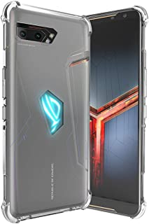 asus Rog Phone 2 Mobile Phone cover Four-corner airbag anti-Drop cover Shock-absorption Flexible TPU Rubber Game Mobile Ph...