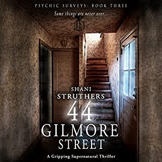 44 Gilmore Street audiobook cover art