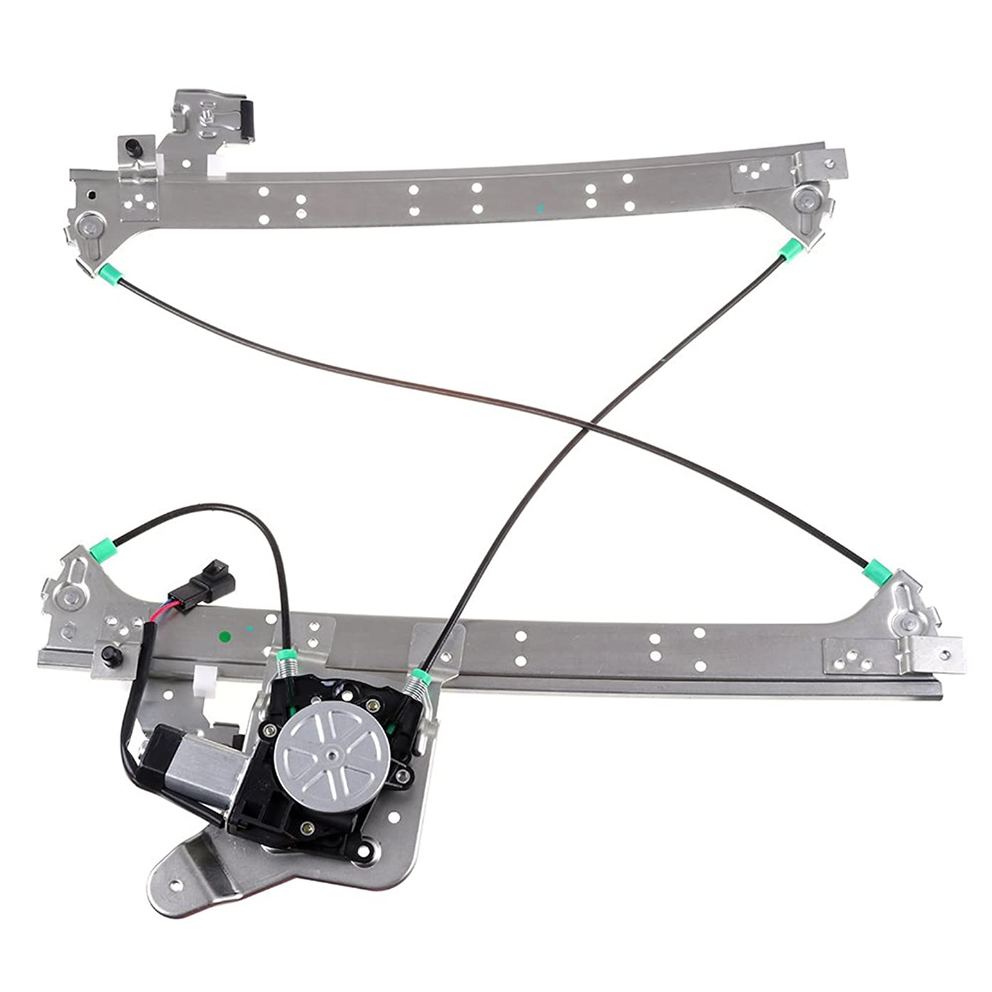 SCITOO Compatible fit for Power Window Lift Regulator High Performance Automotive Replacement Parts Chevrolet GMC Rear Left Drivers Side Motor 15077722 15135970