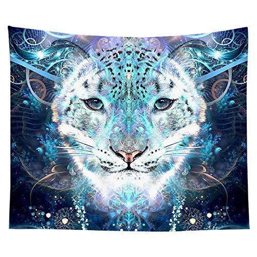 KHKJ Animal de fantasía magnífico Tapiz de Estilo Nacional decoración del hogar Tela para Colgar en la Pared Sala de Estar Fondo de Pared A1 200x150cm