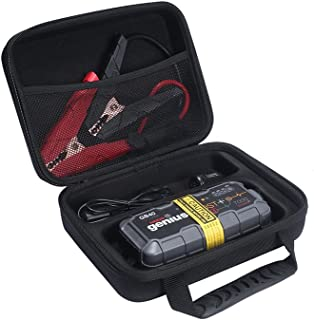 Esimen 2018 Design Hard EVA Travel Case for NOCO Genius Boost Plus GB40 1000 Amp GB20 400 Amp 12V UltraSafe Lithium Jump Starter Accessories Carry Bag Protective Storage Box (Black)