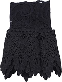 LALANG Cute Women Lace Hollow Fake Arm Sleeve Pleated Cuff Clothing Accessories