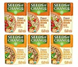 SEEDS OF CHANGE Organic Rice Variety Pack, Quinoa Brown Rice & Red Rice with Flaxseed, Ready to Heat, 8.5 Ounce (Pack of 6)