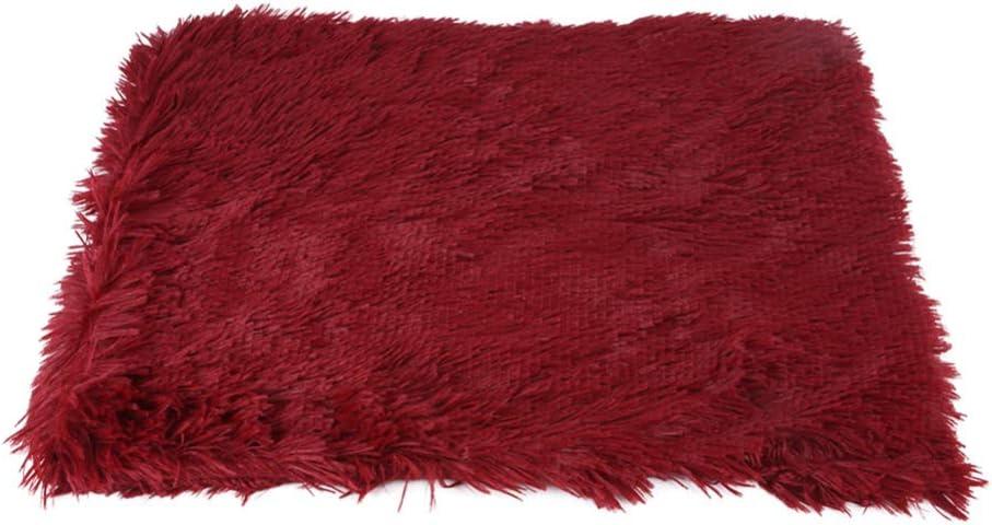 per lautunno e linverno M-89 * 53 SZMYLED Coperta per cani coperta lunga cuscino per animali domestici soffice velluto corallo lavabile celeste materasso caldo per cani