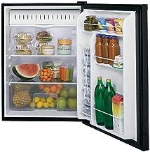 ge 4.4 cu ft compact refrigerator black