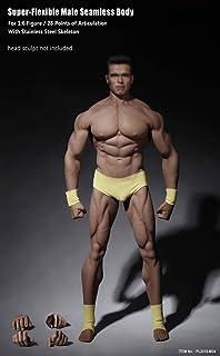 OBEST [TBLeague] does not include Mototai 1/6 scale ultra-flexible seamless male body medium build type head (PL2016-M34)