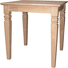 International Concepts Java End Table, Unfinished